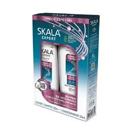 Kit Shampoo+Condicionador Skala 325 ml Cada Bomba de Vitaminas