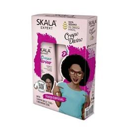 Kit Shampoo+Condicionador Skala 325 ml Cada Crespo Divino