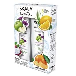 Kit Shampoo+Condicionador Skala 325 ml Cada Maça Verde e Malva