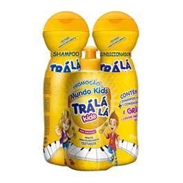 Kit Shampoo + Condicionador Trá Lá Lá Kids Grátis um Creme Para Pentear