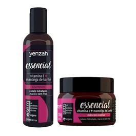 Kit Shampoo + Máscara Yenzah Tratamento Intensivo Essencial