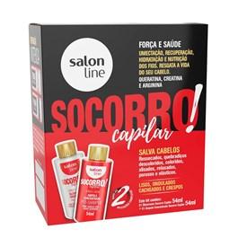 Kit Socorro Capilar Salon Line