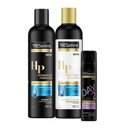 Kit Tresemmé Hidratação Profunda 400 ml Grátis Shampoo a Seco