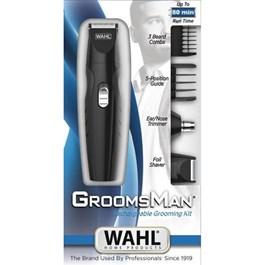 Kit Wahl Groomsman Grooming Recarregável Bivolt