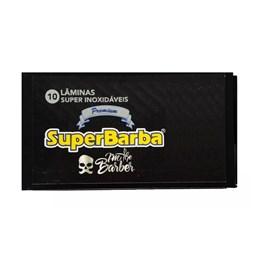 Lâmina de Barbear Super Barba Premium 10 unidades Black