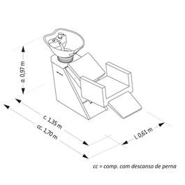 Lavatório Van de Velde Elegance Eletrônico com Massageador Roxo Facto