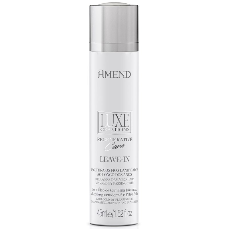 Leave-in Amend Luxe Crations 45 ml Regenerative