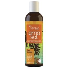 Leave-In Yenzah Amo Sol 240 ml Óleo de Coco