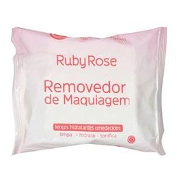 Lenço Removedor de Maquiagem Ruby Rose 25 Unidades