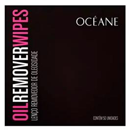 Lenço Removedor de Oleosidade Oceane 50 unidades