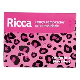 Lenço Removedor de Oleosidade Ricca | Com 50 Unidades
