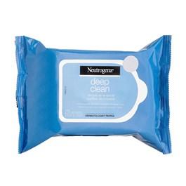 Lenços de Limpeza Neutrogena Deep Clean 25 Unidades