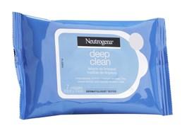 Lenços Demaquilante Neutrogena Deep Clean 7 Unidades