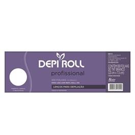 Lencos para Depilac?o Depi Roll 100 unidades