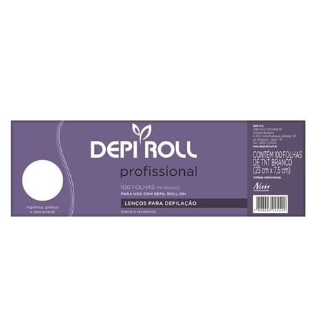 Lenços para Depilação Depi Roll 100 unidades