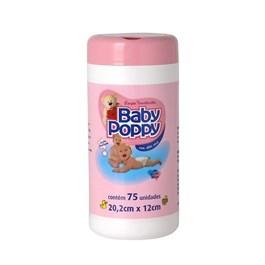 Lenços Umedecidos Baby Poppy 75 unidades Rosa
