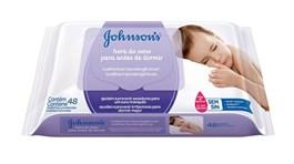 Lenços Umedecidos Johnson's Baby 48 unidades Hora do Sono