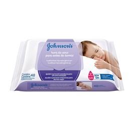 Lencos Umedecidos Johnson's Baby 48 unidades Hora do Sono