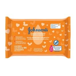 Lenços Umedecidos Johnson's Baby Limpeza e Suavidade 44 unidades