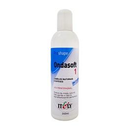 Líquido de Permanente Itely Ondasoft 1 240 ml Cabelos Naturais e Difíceis