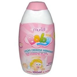 Loc?o Hidratante Muriel Baby 100 ml Menina