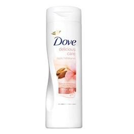 Loção Hidratante Dove Delicious Care 200 ml Leite de Amêndoas e Flor de Hibisco