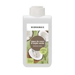 Loção Hidratante Hidramais 500 ml Água de Coco & Argila Verde
