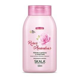 Loção Hidratante Skala 500 ml Rosas e Amêndoas