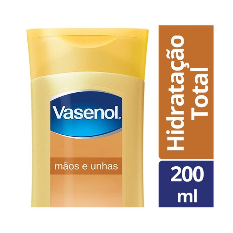 Loção Hidratante Vasenol 200 ml Mãos e Unhas