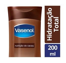 Loção Hidratante Vasenol 200 ml Nutrição Cacau