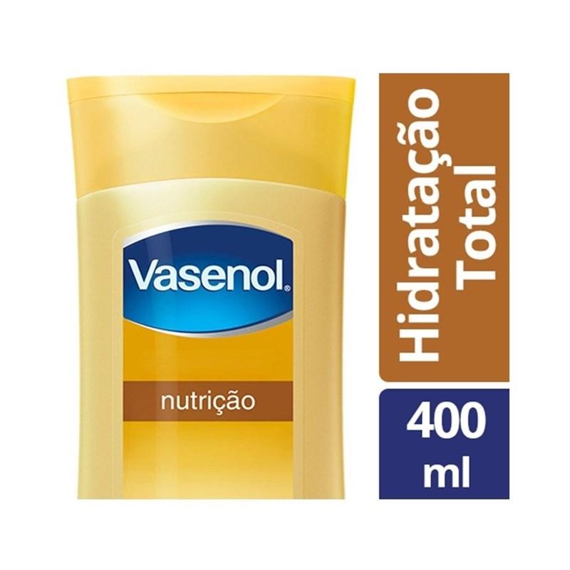 Loção Hidratante Vasenol 400 ml Nutrição