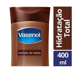 Loção Hidratante Vasenol 400 ml Nutrição Cacau