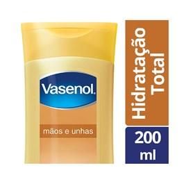 Loção Hidratante Vasenol Hidratação Total 200 ml Mãos e Unhas