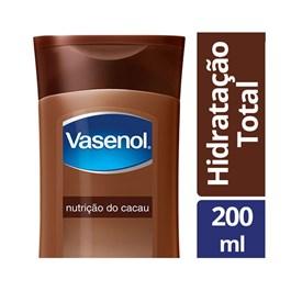 Loção Hidratante Vasenol Hidratação Total 200 ml Nutrição do Cacau