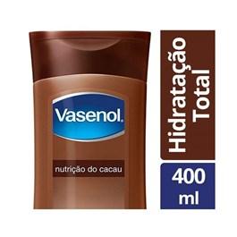 Loção Hidratante Vasenol Hidratação Total 400 ml Nutrição do Cacau