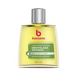 Loção Pós Barba Bozzano 100 ml Mentolada Antibac