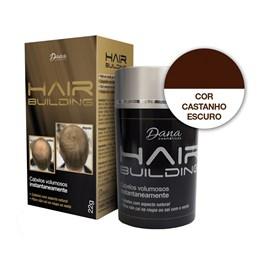 Maquiagem Capilar Hair Building 22 gr Castanho Escuro