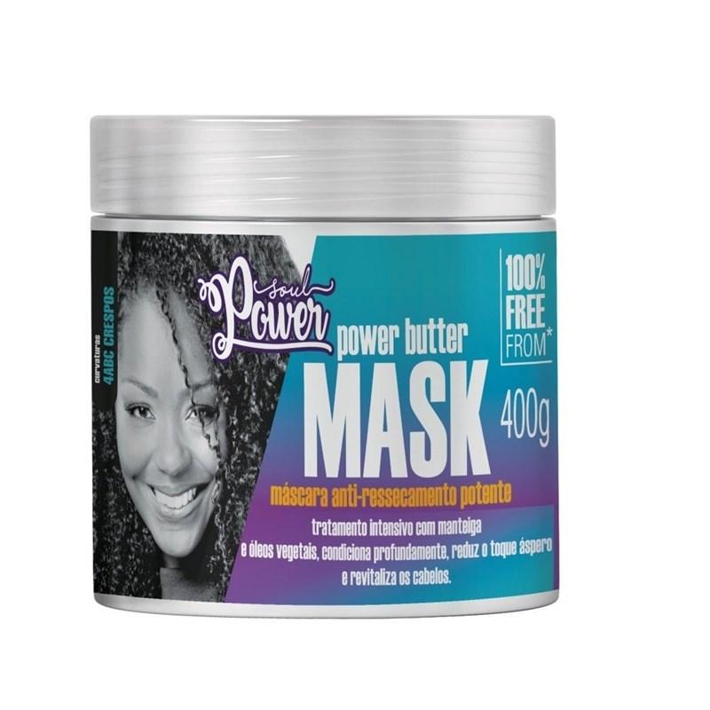 Mascara Anti-Ressecamento Soul Power 400 gr Power Butter Mask