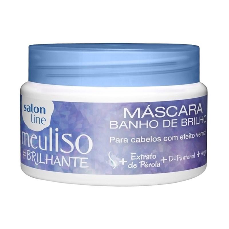 Máscara Banho de Brilho Salon Line Meu Liso #Brilhante 300 gr