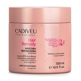 Máscara Cadiveu Professional Hair Remedy 500 ml Cabelos Danificados