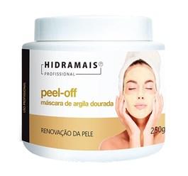 Máscara de Argila Dourada Hidramais 250 gr Peel-Off
