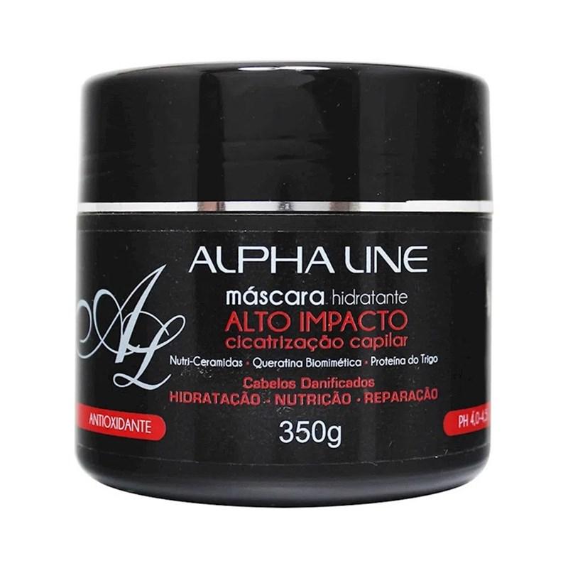 Máscara de Hidratação Alpha Line 350 gr Alto Impacto