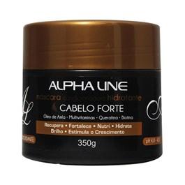 Máscara de Hidratação Alpha Line 350 gr Cabelo Forte