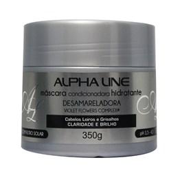 Máscara de Hidratação Alpha Line 350 gr Desamarelador
