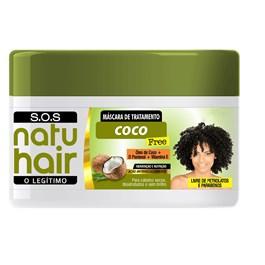 Máscara De Hidratação Natu Hair SOS 350 gr Coco