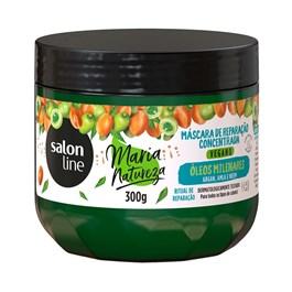 Máscara de Hidratação Salon Line Maria Natureza 300 gr Óleos Milenares
