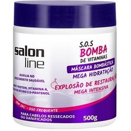 Máscara de Hidratação Salon Line S.O.S Bomba 500 gr Explosão Bombástica