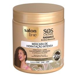 Máscara de Hidratação Salon Line S.O.S Cachos 500 gr Radiance Brilho Absoluto