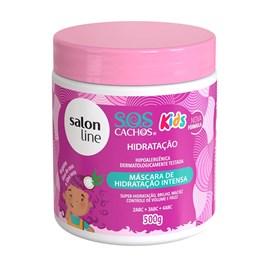 Máscara de Hidratação Salon Line S.O.S Cachos Kids 500 gr Camomila e Aloe Vera