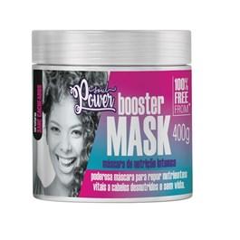Mascara de Nutric?o Intensa Soul Power 400 gr Booster Mask